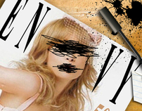 Envy Magazine Spread
