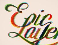 Epic Layers Lettering
