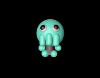 cthulhu for school cinema 4D
