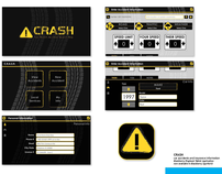 CRASH - Blackberry Playbook Application