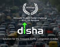 DISHA interactive Traffic Guiding System