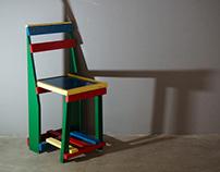 De Stijl / Bauhaus Form - Chair Study
