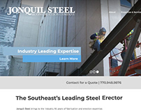 Jonquil Steel Website (THP Creative)