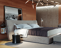Natural Color Bedroom