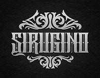 Sirugino Typeface