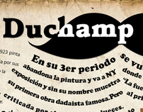 Infograma de Marcel Duchamp