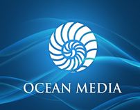 Ocean Media_Pocket Folder & Corporate Identity Concept