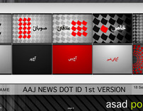AAJ NEWS DOT IDENTS