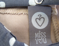 MISS YOU - clothes for little girls