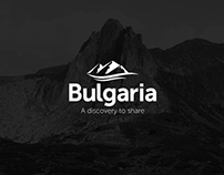 Bulgaria tourism logo proposal