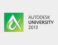 Autodesk University 2013 identity