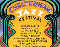 Line Up poster: Cheltenham Jazz Festival 2019