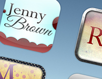 The new iPad Retina icons