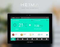 HEIMA - Smart Home Automation UI Concept