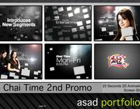 Chai Time Promo