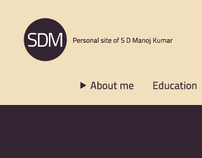 SDM - Single Page design