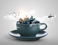 A cup full of city life, please!