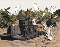 Acts of Valor - Comic Series for Naval History Magazine