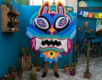 Finchi Dragon Mask by Sordi/Duró