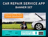 Car repair sevice app banners