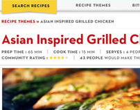 Cook with Campbell's Website Redesign