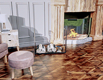 3D visualization of wood baskets