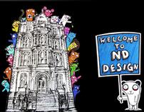 ND Design Website - College Web Design Project