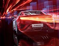 Acura NSX launch film - CGI / digital actor
