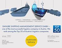 Сайт Danube Shipping Management Service GmbH