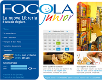 Sito web - Libreria Fogola Junior