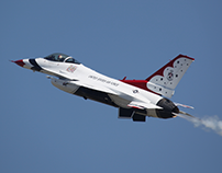 Photo Gallery of USAF Thunderbirds at SJAFB 2019