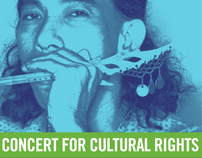 Concert for Cultural Rights Poster