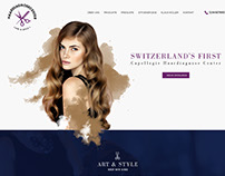 Art & Style - Swiss Salon Website