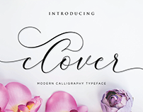 Clover Sweet Calligraphy