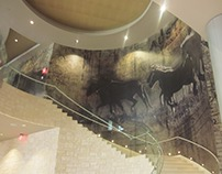 Austin Archer Hotel Interior Wall Covering Design