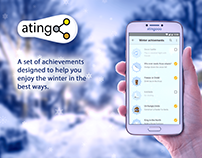 Winter achivements☃️ set for atingooo App