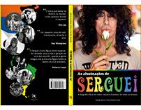 """Capa do livro """"As alucinações de Serguei"""""""