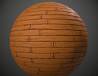 Stylish wood material
