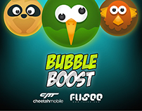 Bubble Boost Game Characters