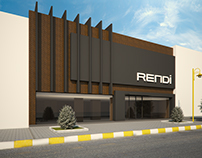 Facade design for furniture firm in 2013