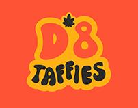 D8 Taffies Branding