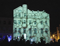 Milka Bubbly video mapping