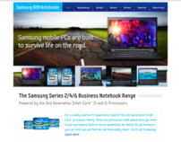 Samsung Australia Business Notebooks