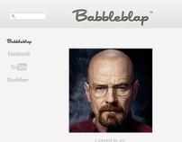 Babbleblap Identity Branding