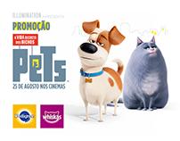 PromoPETS Concorra a viagens pra cidade do filme