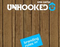 Brandbook for Unhooked accomodation