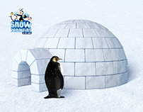 Skid Dubai Snow Penguins