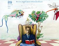Ilustración para la portada de la Revista 'El Perícano'