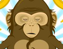 Meditating Monkey