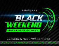 Banner Publicitario - Llantas - Black Weekend
